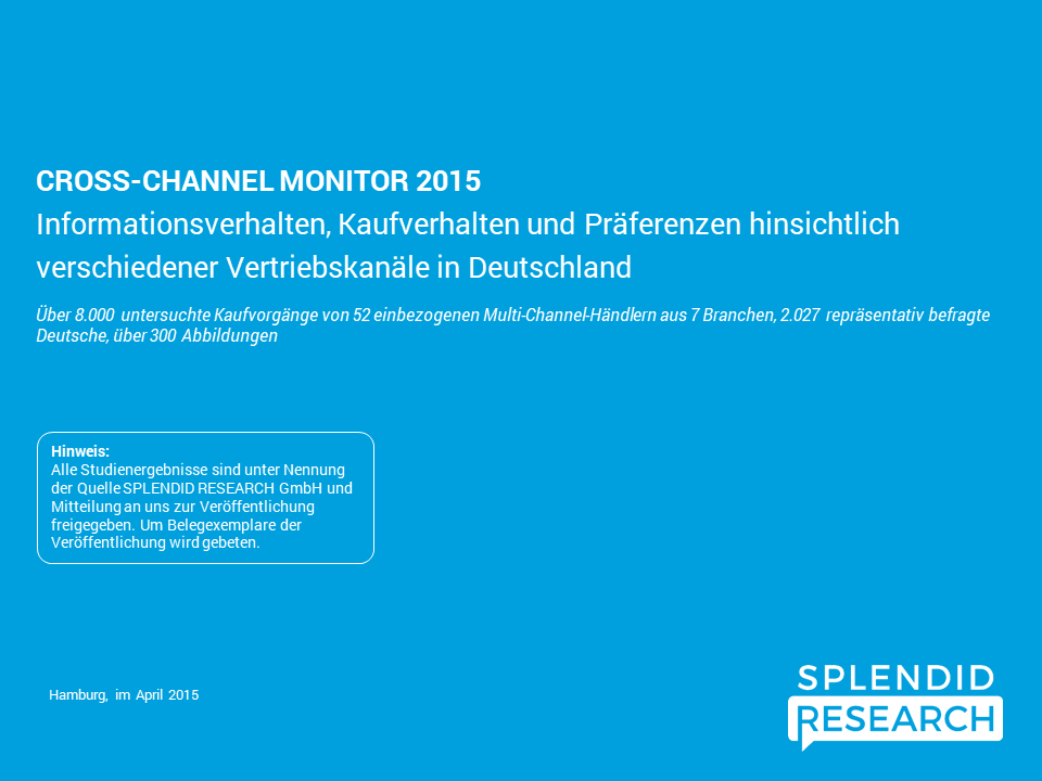 Cross Channel Monitor 2015